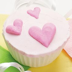 Heart - Go ahead, show them how much you love them by embellishing your cakes with these sweet hearts.