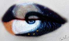 Eva Senín Pernas is a talented makeup artist from Spain and her portfolio proves that she's prepared for Halloween this year with plenty of lip art options. Just check out some of these spooky/cool/fun painted lips.