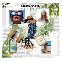 """Geen titel #106"" by xsdjx ❤ liked on Polyvore featuring Le Specs, Eugenia Kim, Miss Selfridge, Casetify, Mystique and McGinn"