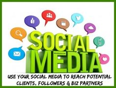 Build your business with social media and get in front of more followers or potential clients