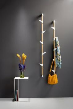 Townsend Coat Rack with Floating Shelf Wardrobe Furniture, Diy Furniture, Furniture Design, Furniture Vintage, Space Furniture, Industrial Furniture, Diy Coat Rack, Coat Racks, Coat Hanger