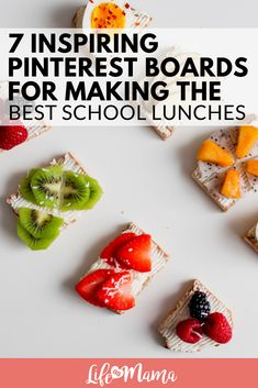 7 Inspiring Pinterest Boards For Making Creative School Lunches #lunch #lunchideas #schoollunches #Pickyeaters #momlife