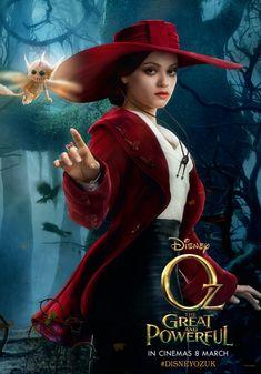 """Mila Kunis in """"Zauberer von Oz"""", als sie sich noch nicht in die böse Hexe verwandelt hat #MilaKunis"""