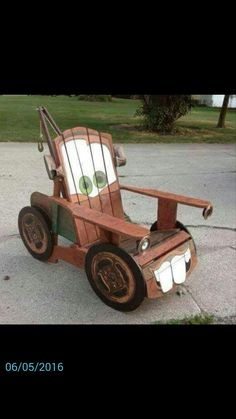 Mater chair - Disney Cars