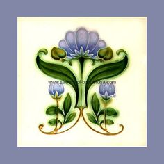 "From ""Art Nouveau Tiles with Style"" by Robert Smith, art-nouveau-15, Streets of Barcalona"
