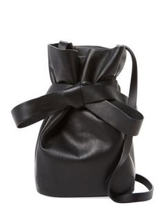 Eve Small Leather Bucket Bag from Jimmy Choo Shoes