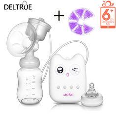 DELTRUE 2016 USB Electric Breast Pump  Breast Pump Automatic Massage  Feeding BPA Free Convenience Baby Sucking Product купить на AliExpress