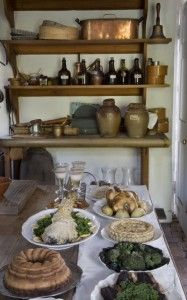 Colonial Williamsburg Kitchen