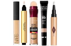 Today, concealers can do more than cover away skin blemishes. They can even hide a tattoo, birthmark or neutralize skin discolorations and brighten any tired-looking skin complexion. But how do you choose a concealer good enough for use in dry skin? Best Concealer, Cream Concealer, Veronica, Cosmetics News, Hidden Tattoos, Acne Scars, Jojoba Oil, Dry Skin, Makeup Brushes