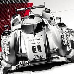 Audi R18 eTron Quattro gets the Instagram Treatment