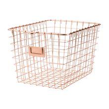 Copper Wire Gym Basket - Small | Rejuvenation