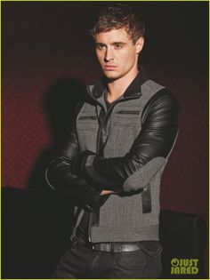 Idk which is best about this picture - Max Irons, or the jacket he is wearing :D