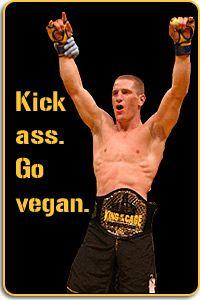 courtesy Mac Danzig #vegan strong