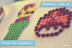 Nostalgia alert: Pixel Art Contest with M&Ms! | grrfeisty #FueledByMM #shop #cbias