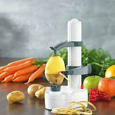 Fruit peeler — peel everything from apples to potatoes with one tool!
