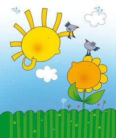 Sole e girasole