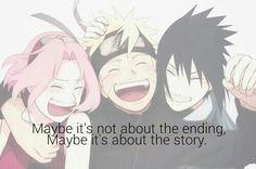 Talvez não é sobre o final.Talvez seja sobre a historia