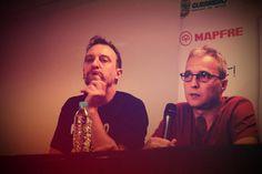 @Dani_Mezquita y @DavidSummershg durante la rueda de prensa en Acapulco - México.