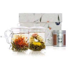 Lovers Flowering Tea Glass Mug Set TWO mugs The Exotic Teapot http://www.amazon.co.uk/dp/B001QOKIPG/ref=cm_sw_r_pi_dp_ZkHhub0M4MFSB