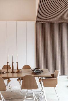 Modern Interior Design, Interior Architecture, Modern Ceiling Design, Office Ceiling Design, Interior Inspiration, Room Inspiration, Dining Room Design, Home And Living, Room Decor