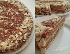 """Шоколадно-ванильный торт """"Крем-брюле"""""""