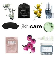 """""""Take a break for... Skincare"""" by giastyle on Polyvore featuring beauty, Lancôme, Herbivore and Slip"""