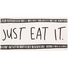 Just Eat It MDF Wall Art