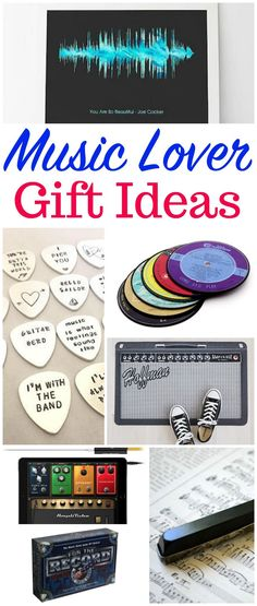 Music Lover Gift Ideas Guitar Gifts