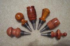 Wine bottle stoppers - Red Oak Hollow