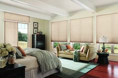 Cellular Window Shades from Budget Blinds come in a wide variety of beautiful styles. Schedule a free in-home consultation to see our full line of Cellular Window Shades. Honeycomb Blinds, Honeycomb Shades, Mini Blinds, Blinds For Windows, Beautiful Blinds, Aluminum Blinds, Modern Window Treatments, Horizontal Blinds, Budget Blinds