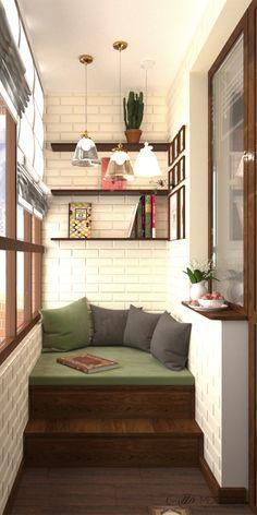 Решение для оформления балкона.