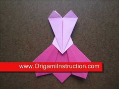 How to Make an Origami Prom Dress