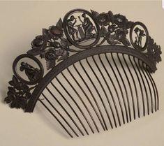 Berlin ironwork tiara 1820s