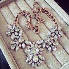 SBY0278 Fashion Bohemian chain Chokers chunky big statement Chunky necklace 2015