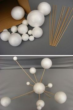 Make Your Own Solar System Model ~ 14 Mixed Sized Polystyrene Spheres / Balls to Diameter & Wooden Rods School Projects Solar System Projects For Kids, Solar System Activities, Space Activities, Space Projects, Space Crafts, Science Projects, School Projects, Fun Crafts, Solar System Pictures