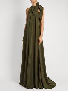Camille reversible silk-crepe maxi dress | Kalita | MATCHESFASHION.COM UK