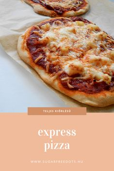 Pizza Express, Diet Recipes, Healthy Recipes, Sugar Free, Nom Nom, Paleo, Food And Drink, Low Carb, Kochen