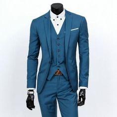 Men's Once Button Formal Dres Suit