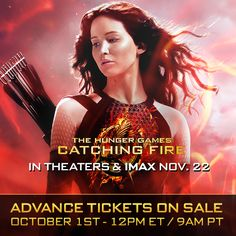 Reserve your tickets for The Hunger Games: #CatchingFire this Tuesday, 12pm ET/9am PT! RSVP now: https://www.facebook.com/events/1408946109322712/