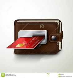 Brown Leather Wallet Atm Bank Machine Stock Vector - Illustration of design, icon: 39502963 Creative Banners, Ads Creative, Creative Advertising, Advertising Design, Creative Poster Design, Creative Posters, Graphic Design Posters, Banks Advertising, Banks Ads