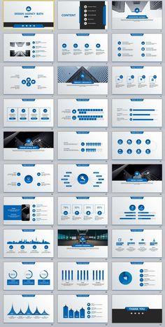 Ppt Template Design, Powerpoint Design Templates, Professional Powerpoint Templates, Creative Powerpoint, Graphisches Design, Slide Design, Layout Design, Dashboard Design, Brochure Design