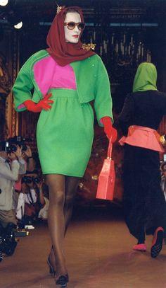1988 Christian Lacroix Haute Couture Fall-Winter