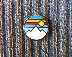 Mountain - Hard Enamel Pin