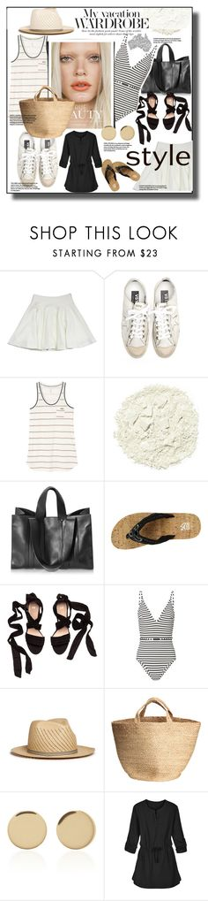 """Untitled #1369"" by sugarmoonmama ❤ liked on Polyvore featuring Milly, Golden Goose, RVCA, Illamasqua, Corto Moltedo, Cudas, Zimmermann, My Bob, Magdalena Frackowiak and Coolibar"