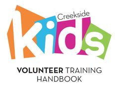 Kids Ministry Volunteer Handbook - free pdf download