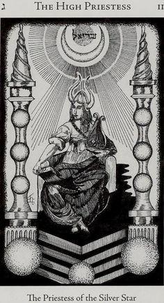 Hermetic Tarot: A Alta Sacerdotisa Carl Jung, Hermetic Tarot, Tarot Cards Major Arcana, Oracle Tarot, Tarot Card Decks, Tarot Reading, Archetypes, Magical Girl, Halloween