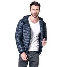 White Duck Down Jacket Men Men's Jackets - Online Leather in Pakistan Men's Coats And Jackets, Winter Jackets, Online Shopping Usa, Shopping Sites, Jacket Style, Jacket Men, Duck Down Jacket, Packable Jacket, White Ducks