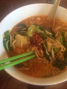 Thai Spicy Ramen Noodle