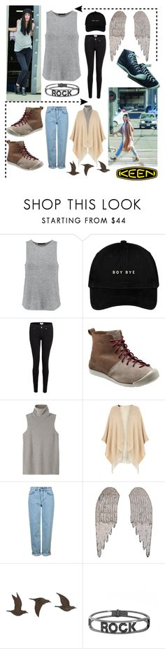 """""""So Fresh and So Keen: Contest Entry"""" by kristine-zupa ❤ liked on Polyvore featuring rag & bone, Paige Denim, Keen Footwear, The Row, Dorothy Perkins, Topshop, Home Decorators Collection, Spallanzani and keen"""