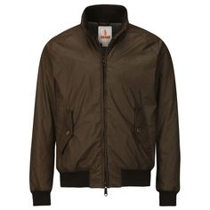 Baracuta G9 Padded & Knited Logo Waxed Jacket